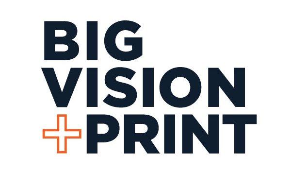 Big Vision and Print | Pro AV | Printers | Business Equipment | Print Studio | IT Logo